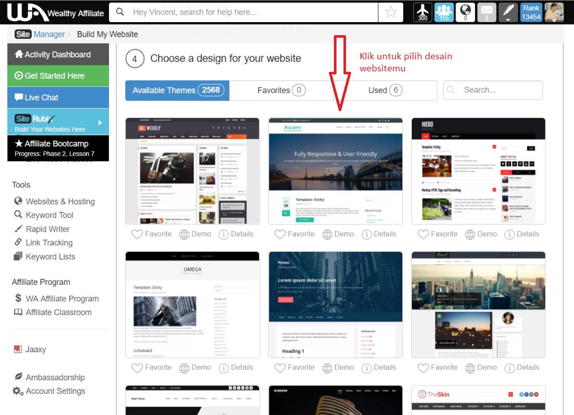 Cara Membuat Website Dalam Waktu 30 Detik