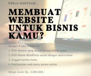membuat website untuk bisnis kamu